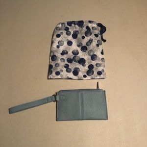 Thirty One Wristlet Blue NEW